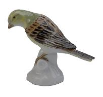 Meissen Porcelain Bird Figurine - Yellowhammer I